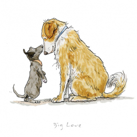 Print - A Dog's Life Big Love