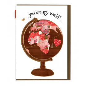 Card You are my World
