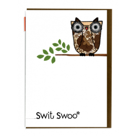 Card Swit Swoo Owl