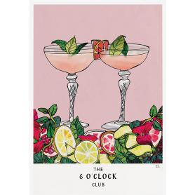 Six O'Clock Club Cocktails