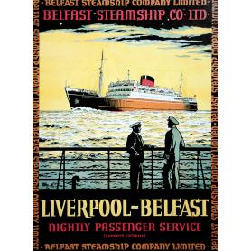 Ireland Co Antrim - Belfast Liverpool Ferry