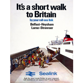 Ireland Co Antrim - Belfast To Heysham Larne To Stranrear Ferry