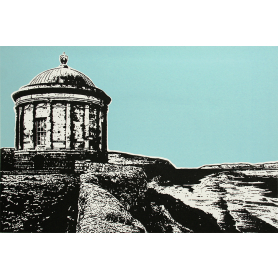 Mussenden Temple In Blue