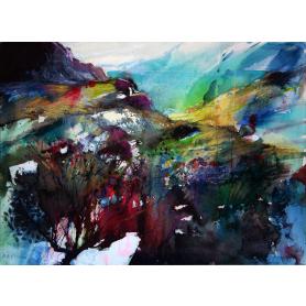 Original - Abstraction, Horn Head