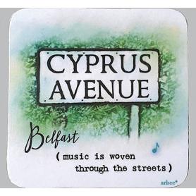 Mug Coaster Cyprus Avenue