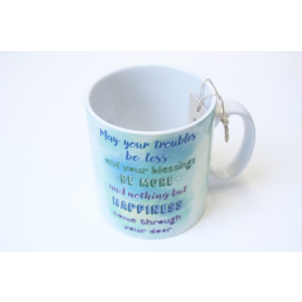 Mug May Your Troubles Be Less