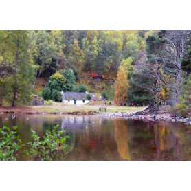 Other - Autumn Cottage Across the Water