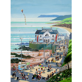 Print - Bank Holiday In Portrush