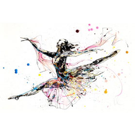 Print Collector's Edition - Dancer Series - Beautiful