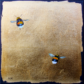 Bees On Canvas