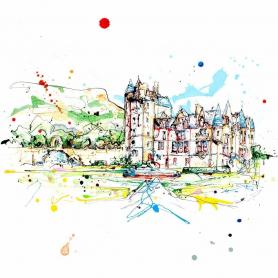 Print Open Edition Landscapes - Belfast Castle II