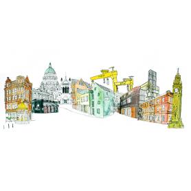 Belfast City Skyline