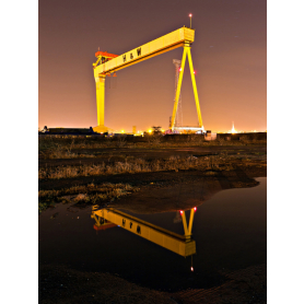 Belfast - Shipyard Lights