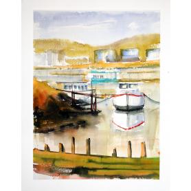 Original - Belfast Victoria Park Boatyard