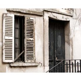 Paris In Black Door