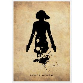 Superheroes Black Widow