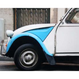 Paris In Blue Citroen CV