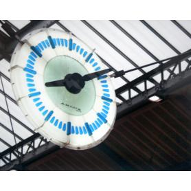 Paris In Blue Clock