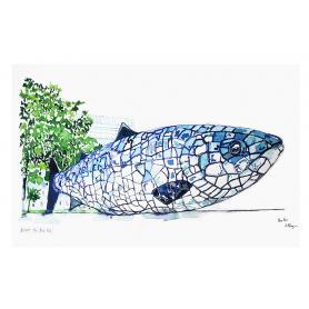 Belfast - Big Blue Fish