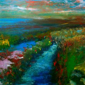 Print - Bog Irises, Mourne Mountains