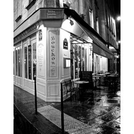 Paris Black and White Bouchon