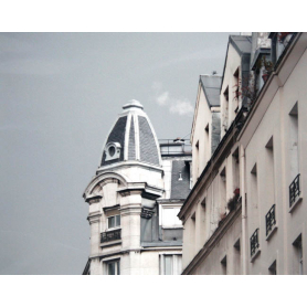 Paris In Grey Building With Dome