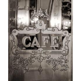 Paris Black And White Cafe Louis Phillipe