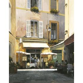 Café Bar Aix - Artist Proof