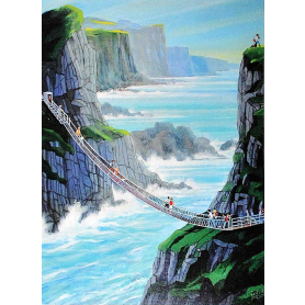 Print - At Carrick-A-Rede Co Antrim II