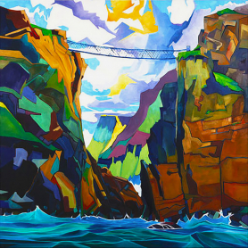 Print - Carrick-a-Rede