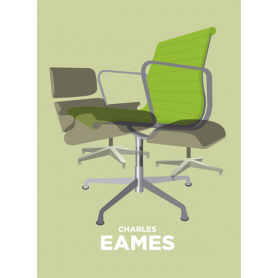 Charles Eames Chairs In Green