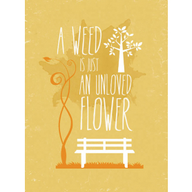 Typography - A Weed