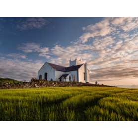 Co Antrim - Church at Ballintoy
