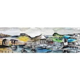 Canvas Print  - The Coast Road