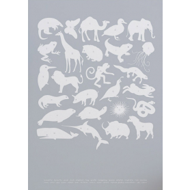 Nature - Creatures A-Z in Grey