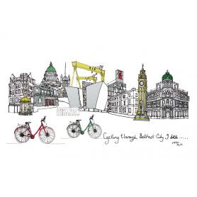 Belfast - Cycling Through Belfast