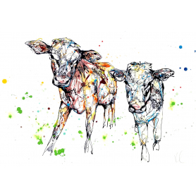 Print Ltd Edition - Animals Series - Daisy and Dot