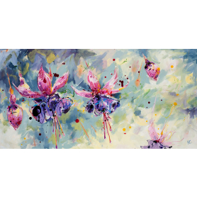 Print Ltd Edition - Floral Series - Dance With Me