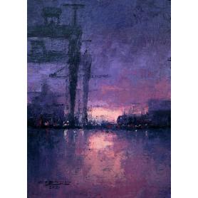 Original - Daybreak At Harland And Wolff
