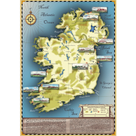 Golf Map of Ireland