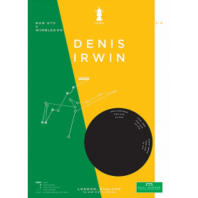 Man Utd - Denis Irwin vs Wimbledon 1994