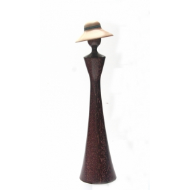 Ladies In Hats - Bogassi And Maple Wood