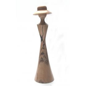 Ladies In Hats - Spalled Beech