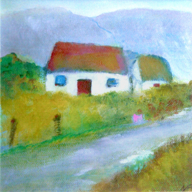 Print - Donegal Cottage