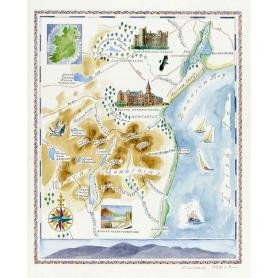 Map Dundrum Bay