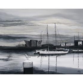 Early Light Belfast Docks I