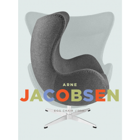 Jacobsen Egg Chair In Grey