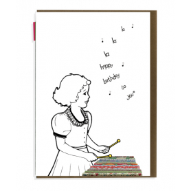 Card Happy Birthday Xylophone