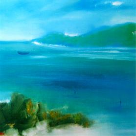 Print - Feel The Breeze, Rathlin Island