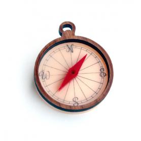 Brooch Compass